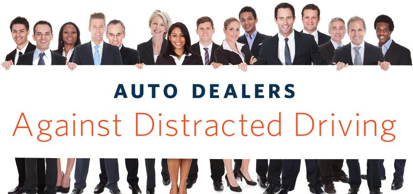 1-850) Auto dealers joining forces to end distracted driving in Canada